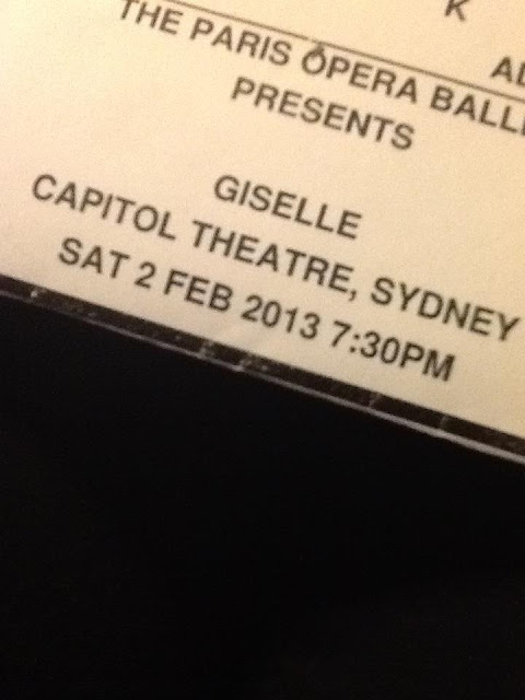 Paris Opera Ballet Giselle Ticket