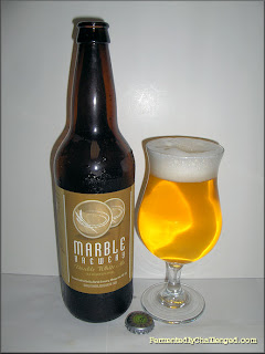 Marble Brewery Double White Ale