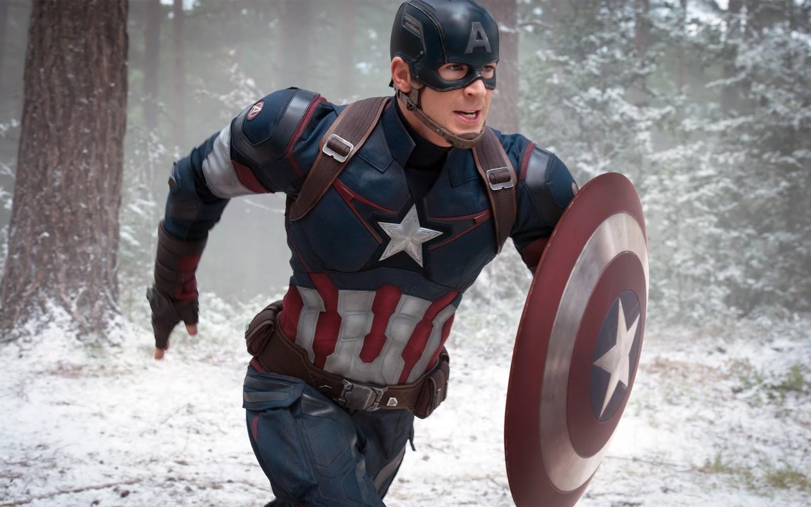 Free Captain America Wallpaper HD Widescreen