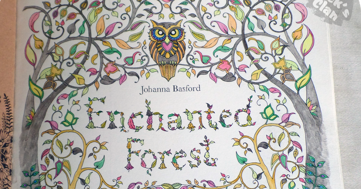 Enchanted Forest Coloring Book Ca