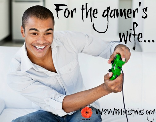 Does your #husband play #videogames? Here's some encouragement for the gamer's wife! #marriage