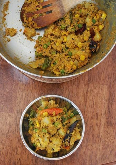 Aloo Posto or Potatoes with Poppy Seeds
