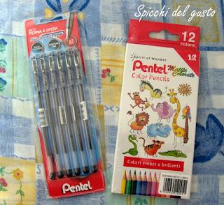 penne e matite colorate pentel