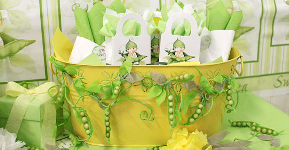 Delightful Sweet Pea Baby Shower #1 W/ Project Idea!
