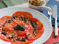 Carpaccio de Tomates (vegana)