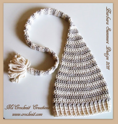 Free Crochet Pattern Long Elf Hat : MICROCKNIT CREATIONS: Custom Patterns for DK Yarn