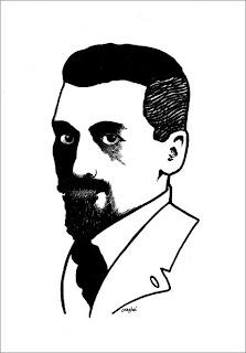 Stefan Grabiński, illustrazione di Gino Andrea Carosini