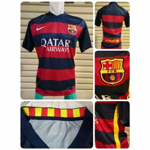 gambar jersey barcelona musim depan 2015/2016 kualitas grade ori made in thailand