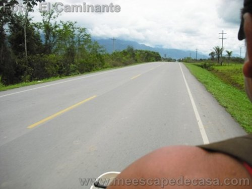 En moto a Tioyacu (Rioja, Perú)