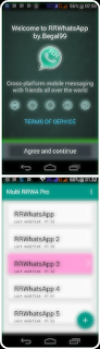 Multi Whatsapp Mod + WA2 + WA3 + WA4 for Android
