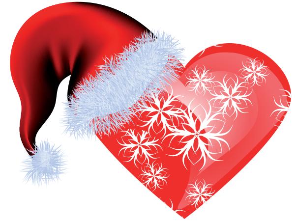 Merry Holidays Heart