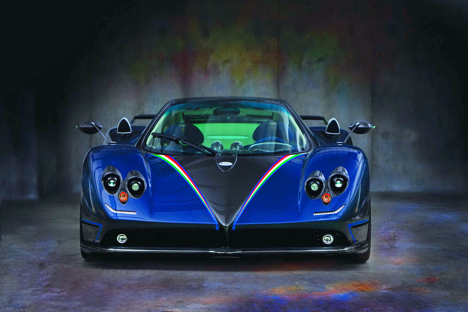 2011 pagani zonda tricolor - photo #18