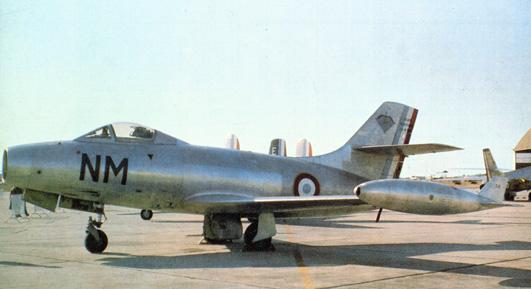 Dassault MD 450B Ouragan NM