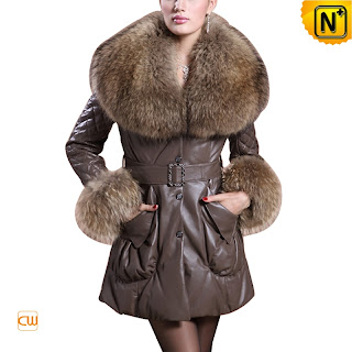 Women Sheepskin Down Coat
