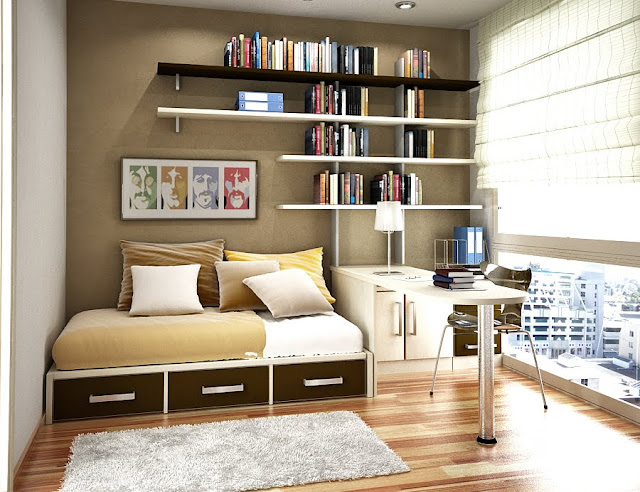 Bedroom Space Saving Ideas