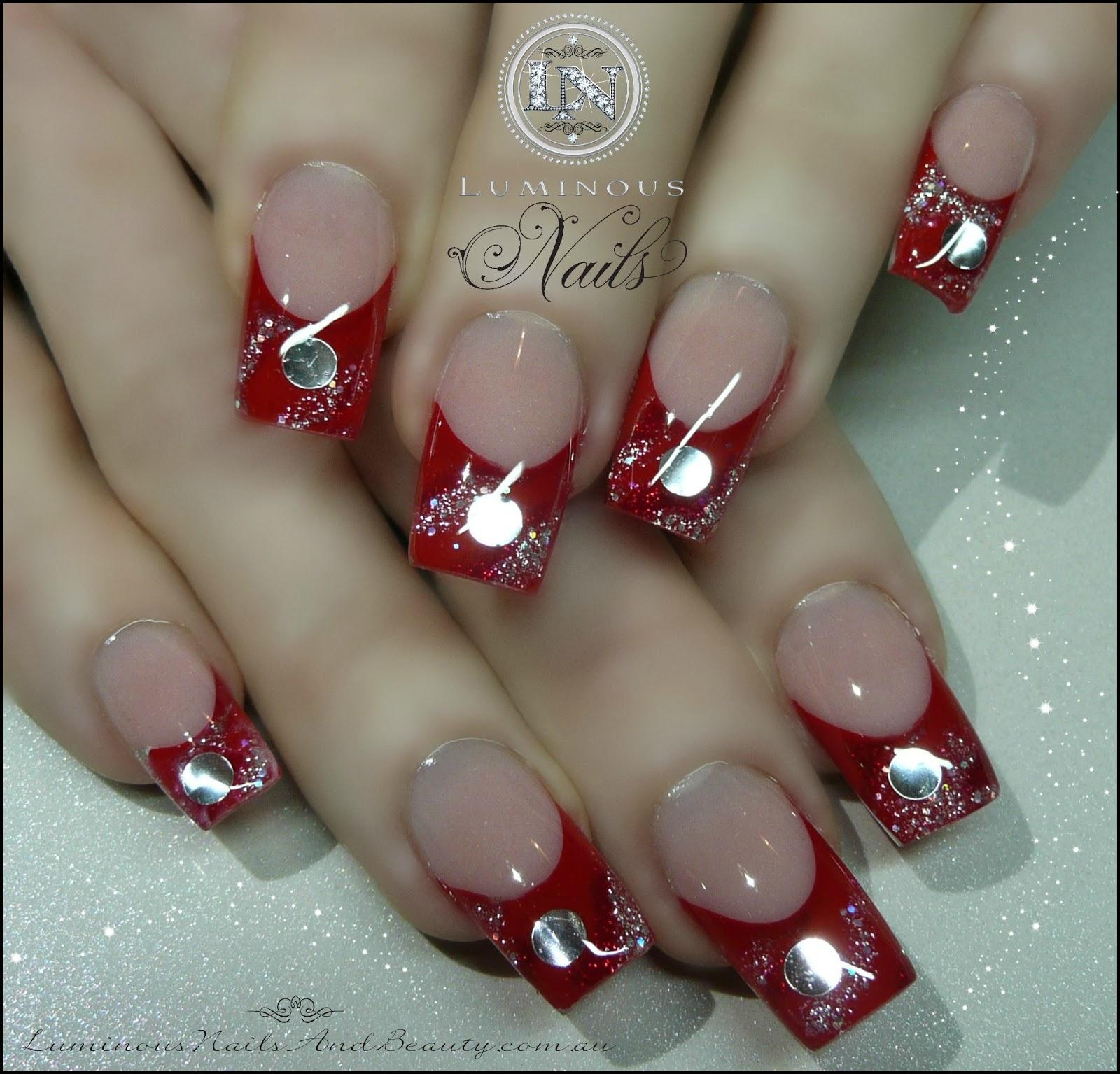 Acrylic Nails: Luminous Nails: July 2013