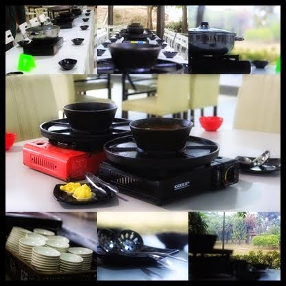 Set Steamboat Biasa dan Set Grill