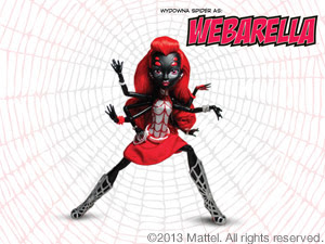 Mattel Monster High SDCC Webarella Exclusive Figure