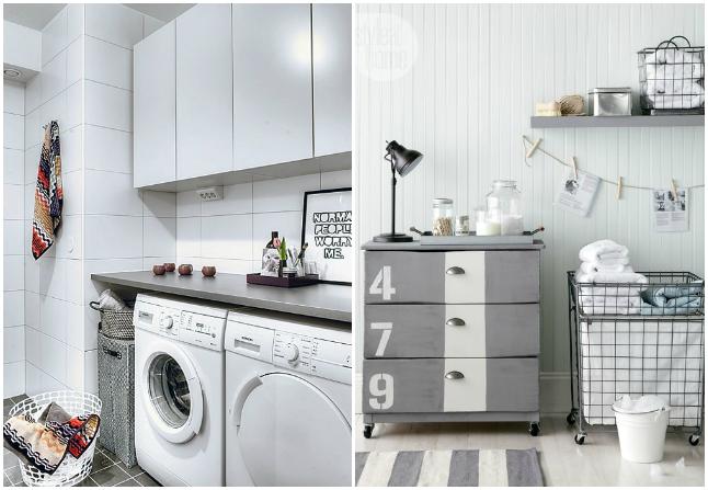 Lavandería en casa: inspiración y compras