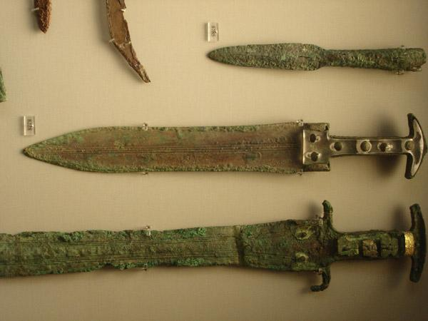 Ancient, Classical and Medieval History of the ... Real Ancient Spartan Weapons