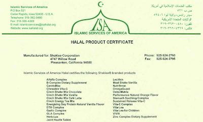 shaklee haram ke halal