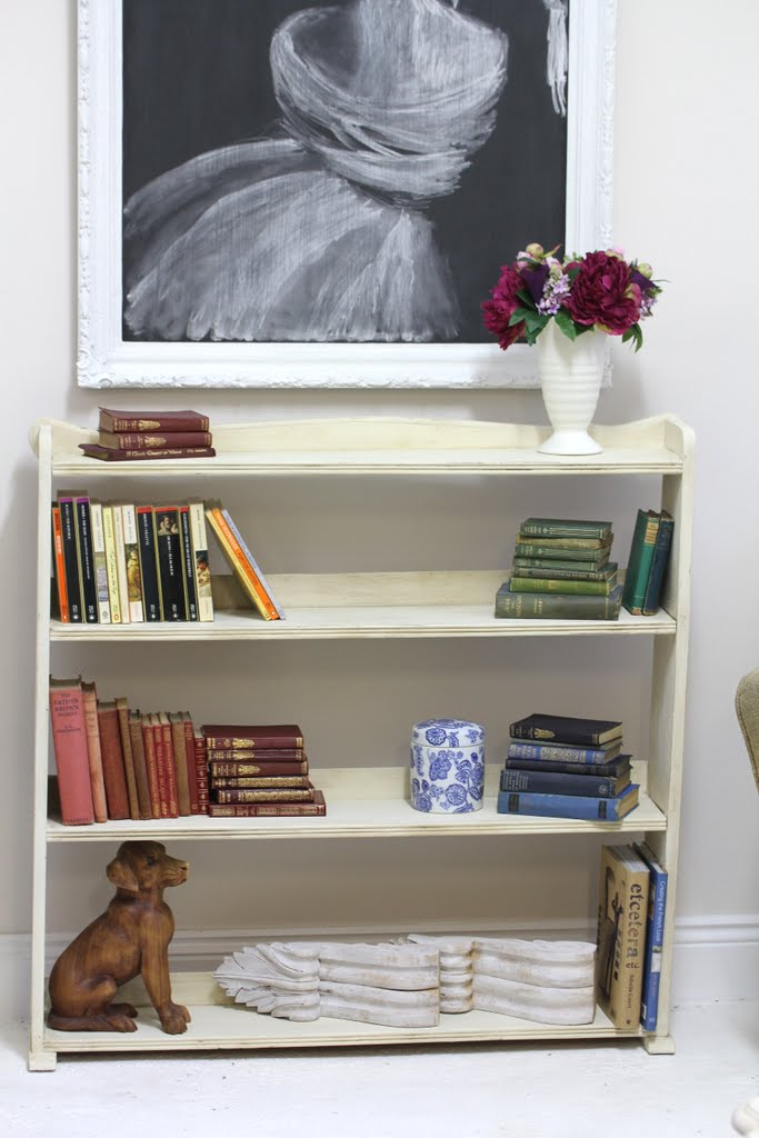 Lilyfield Life: Book Shelf Makeover with ASCP and Dark Wax