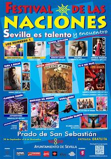 Festival de las Naciones - Sevilla 2012 - Cartel de invitados