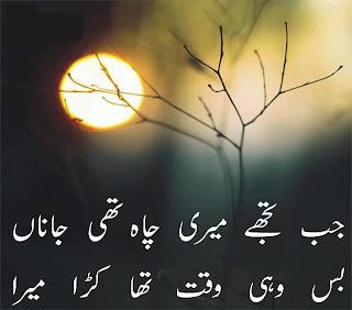 2 Lines Urdu Poetry about ignorance