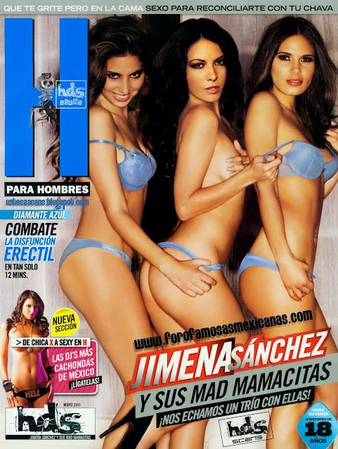 Jimena Sánchez Revista H Mayo 2011-solorevistah.com