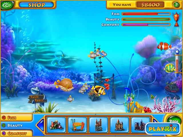 Free download pc games fishdom full rip aquarium on computer 38 mb