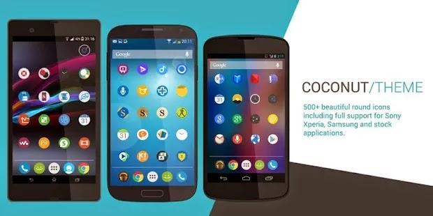 Coconut Theme gratis para android