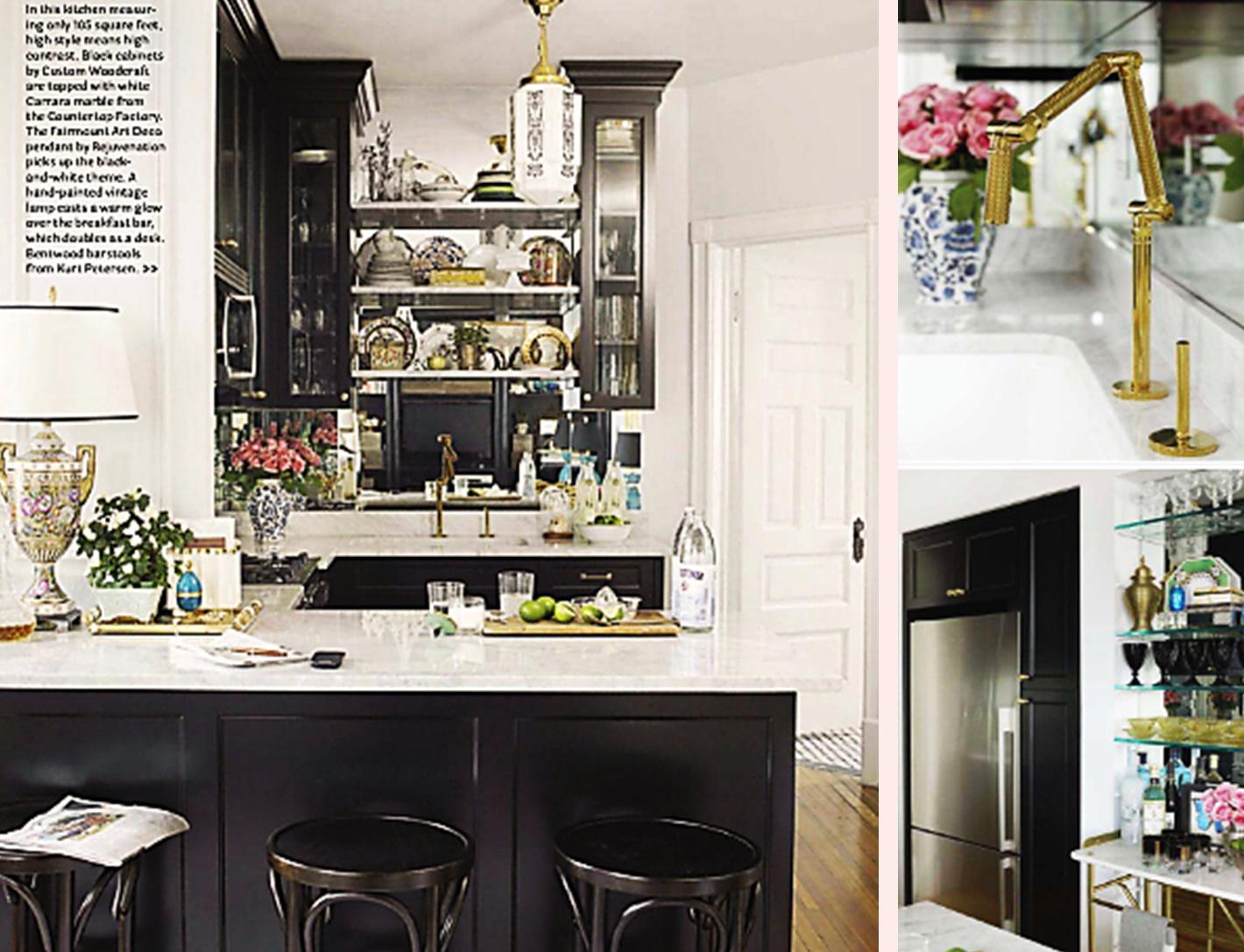 BOISERIE & C.: Cucine: 25 Soluzioni Per Piccoli Spazi Ma Scenografiche #967D35 1420 1087 Cucine Lube Per Piccoli Spazi