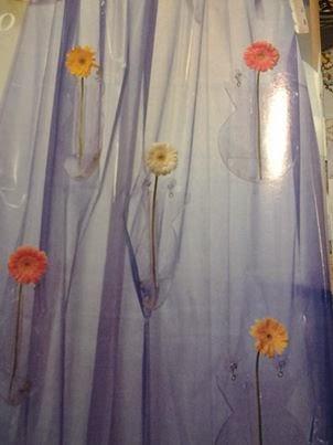 Mille idee casa tenda per doccia con fiori for Tende plastificate