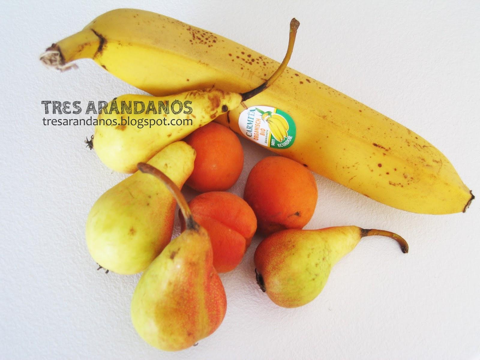 Frutas para papilla