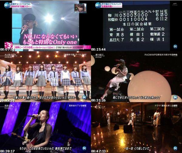 [TV-Variety] MUSIC STATION – 2016.08.19