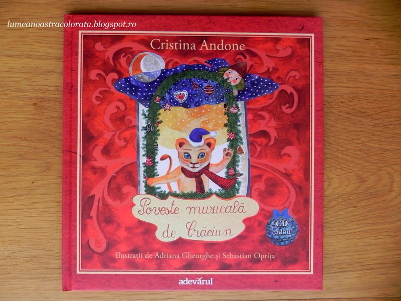 Poveste muzicala de Craciun de Cristina Androne