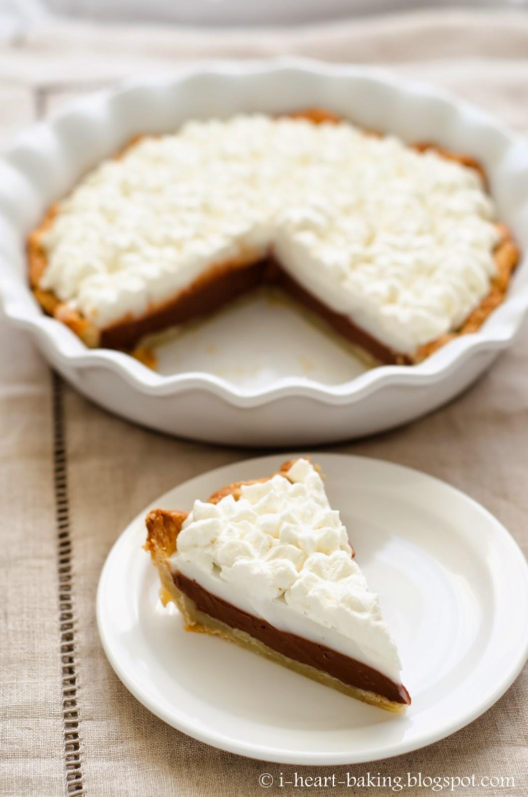 heart baking!: chocolate haupia pie