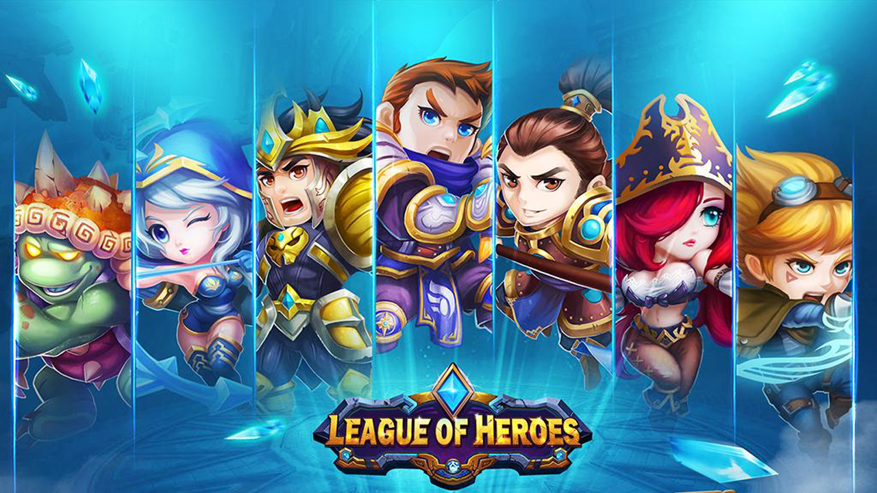 League of Heroes Gameplay IOS / Android