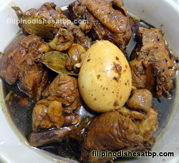 Adobong manok chicken adobo filipino dishes atbp for Adobo filipino cuisine