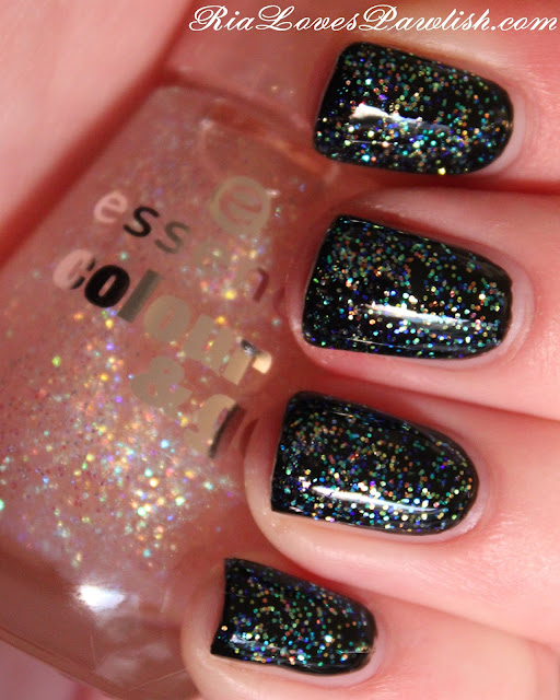 Essence Gel Nail Polish Space Queen: Ria Loves Pawlish: Essence Space Queen