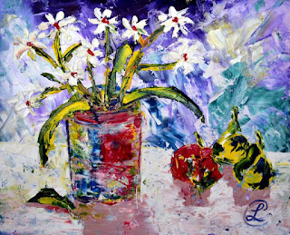 http://www.ebay.com/itm/Daisies-Contemporary-Abstract-Floral-Oil-Painting-Paper-Artist-France-2000-Now-/291630780248?ssPageName=STRK:MESE:IT