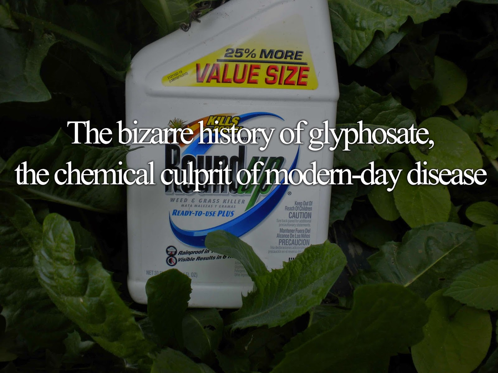 The bizarre history of glyphosate, the chemical culprit of modern-day disease