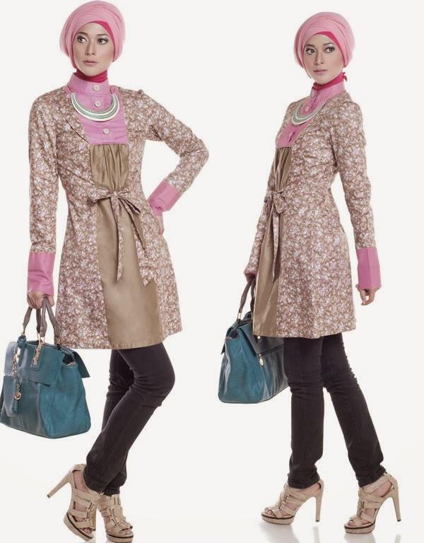 Kumpulan Contoh Gambar Desain Baju Muslim Modern 2015