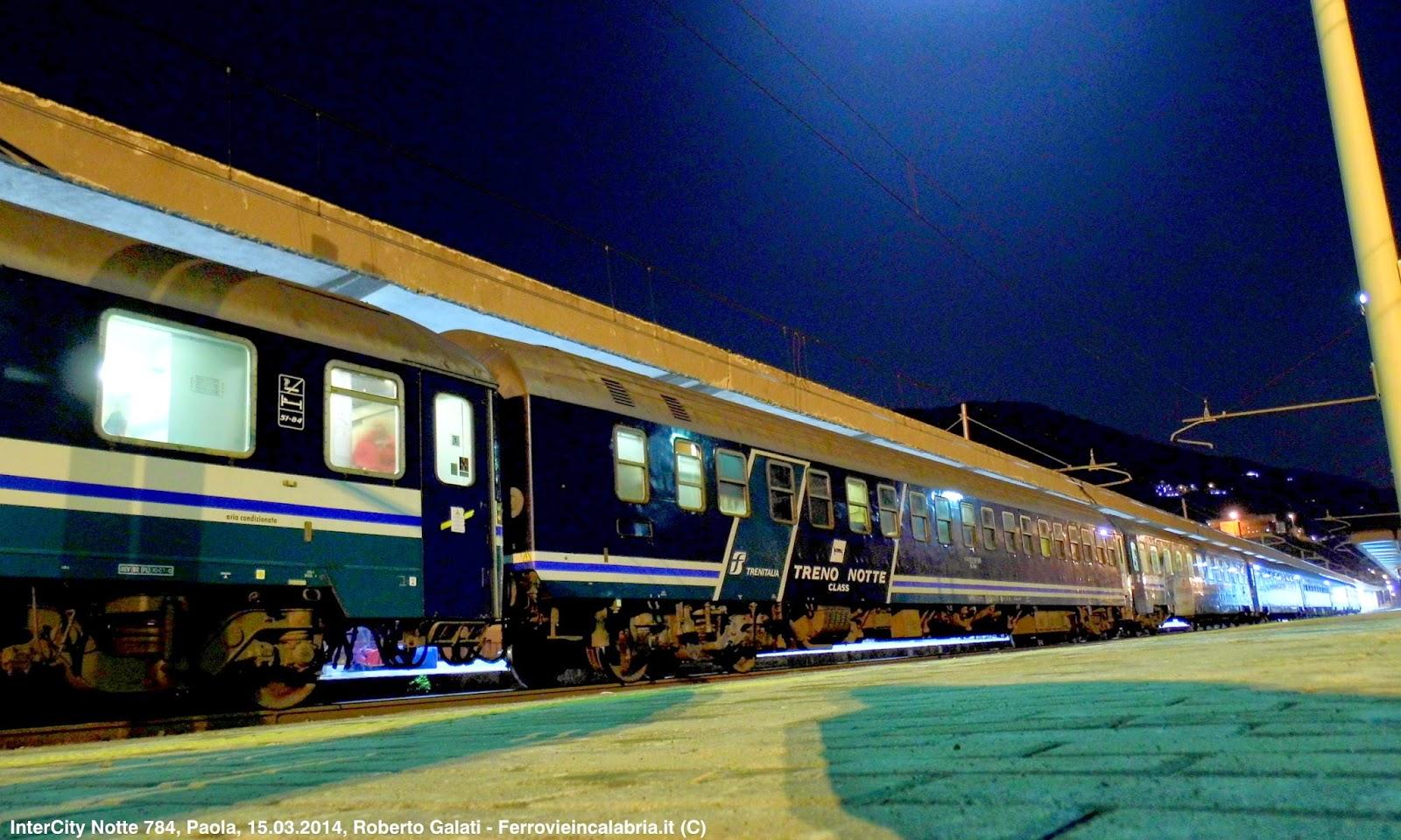 Ferrovie in calabria orario estivo trenitalia 2014 - Trenitalia vagone letto ...