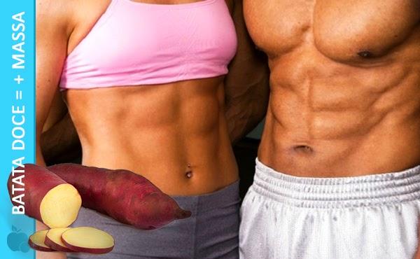 Batata Doce é bom para Ganhar Massa Muscular