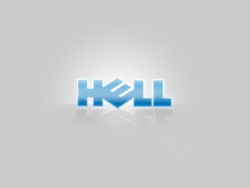 20 Logo Plesetan dari Perusahaan-Perusahaan Terkenal di Dunia: Dell - Hell