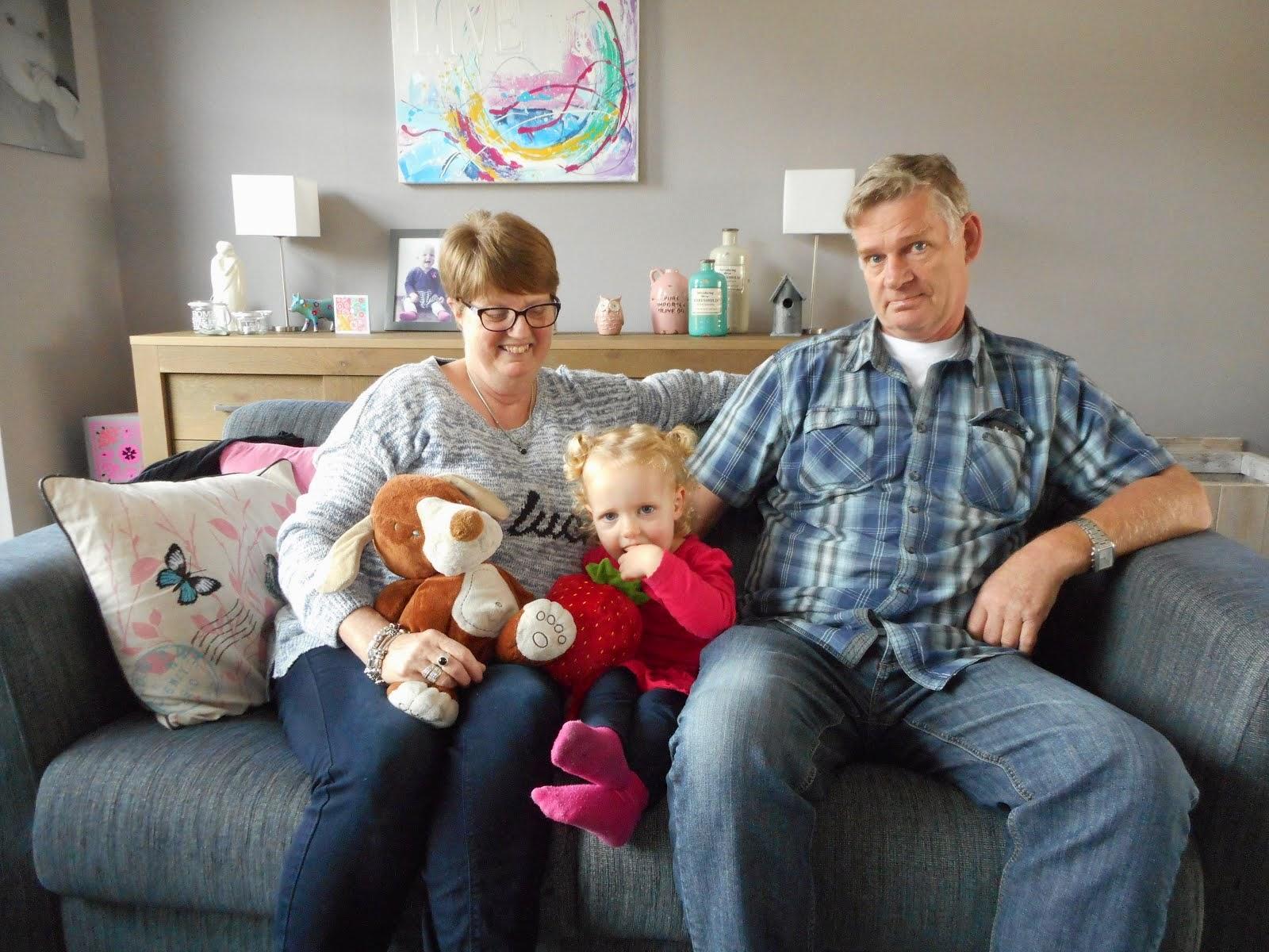 Vera met Opa en Oma