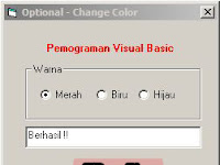 Program Mengganti Warna - Visual Basic