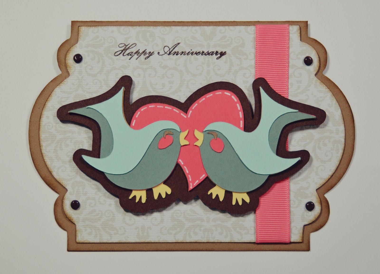 Jeannes paper crafts: happy anniversary!