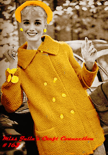 Ruffle Hood Coat Knitting Pattern | Red Heart